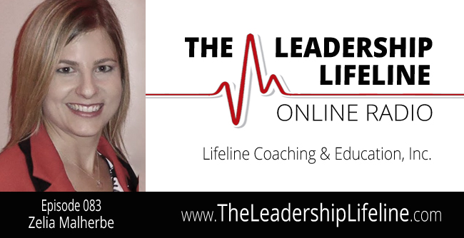 Zelia Malherbe for the Leadership Lifeline